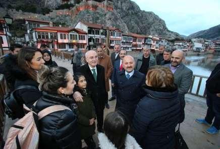 Bakan Yardımcısı Erdil'den Amasya turu