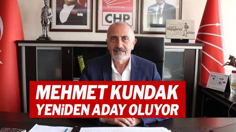 CHP Samsun İl Başkanı Mehmet Kundak yeniden aday oluyor