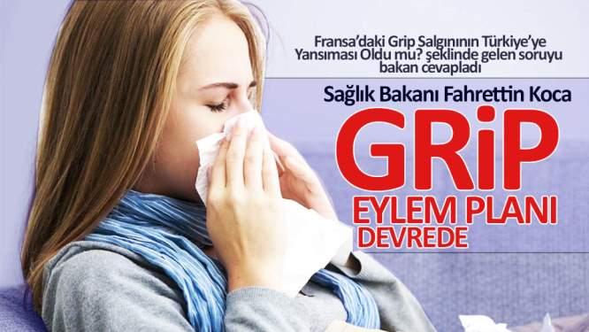 Sağlık Bakanı Koca'dan grip salgını açıklaması