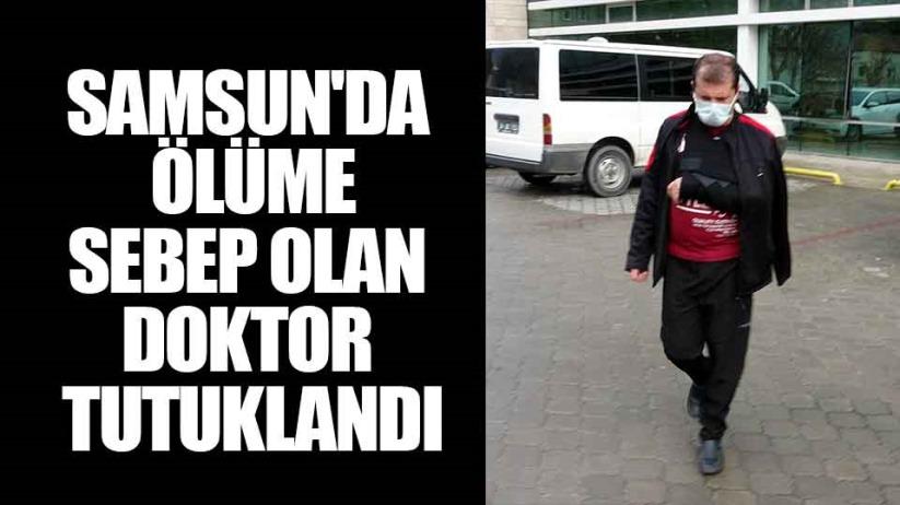 Samsunda kırmızı ışıkta geçerek ölüme sebep olan doktor tutuklandı