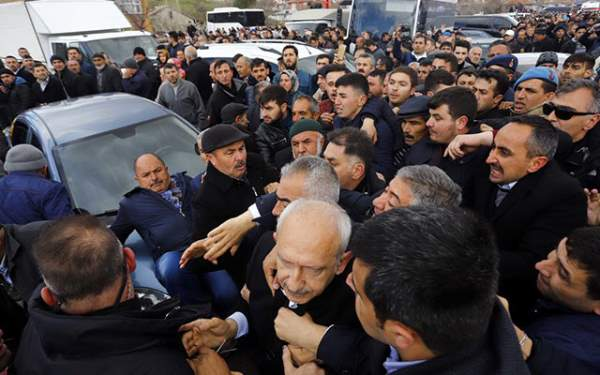 Kılıçdaroğluna saldırıda 5 gözaltı