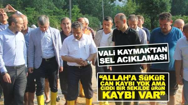 Samsun'da Yaşanan sel felaketi hakkında Vali Kayma açıklama yaptı