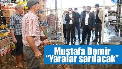 Samsun Büyükşehir Belediye Başkanı Mustafa Demir: 'Yaralar sarılacak'