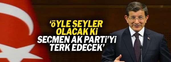 Ahmet Davutoğlu'ndan olay yaratacak sözler!