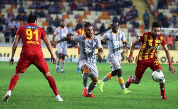 Süper Lig: Yeni Malatyaspor: 1 - Galatasaray: 1 Maç sonucu