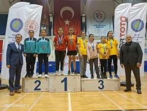 İşitme Engelliler Badminton Türkiye Şampiyonasına Kayseri damgası
