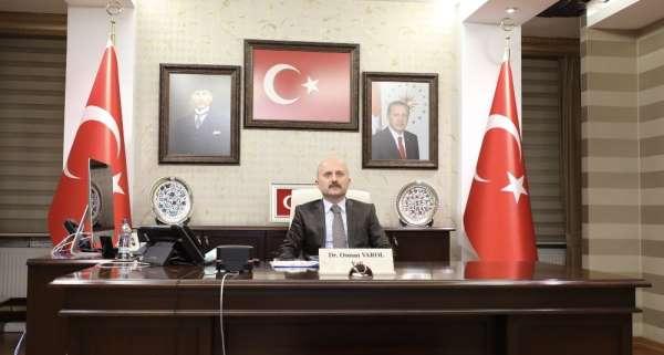 Ağrı Valisi Varol: 'Son terörist ortadan kalkana kadar mücadelemize devam edeceğiz'