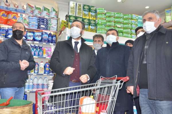 Elbistan'da yerel esnafa nefes aldıracak kampanya