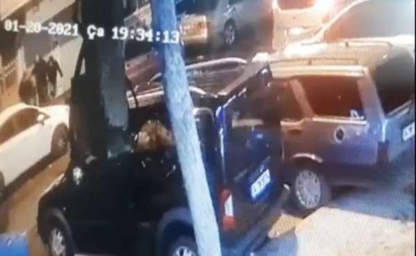 (Özel) İstanbul'un göbeğinde silahlı saldırı: Yaralı genç can havliyle böyle kaçtı