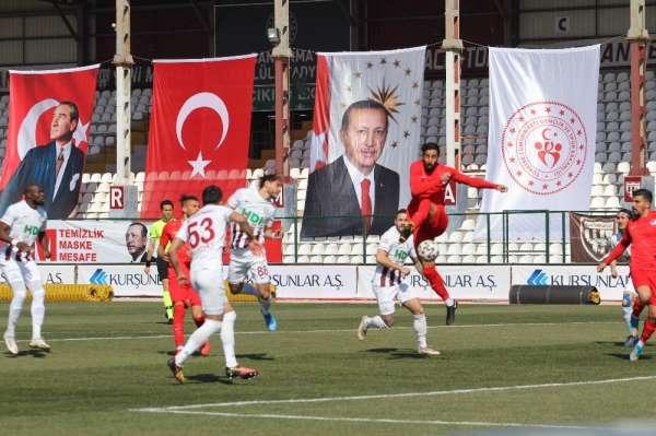 TFF 1. Lig: RH Bandırmaspor: 1 - Ankara Keçiörengücü: 1