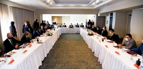 Turizm değerlendirme toplantısı Kuşadası'nda yapıldı
