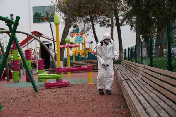 Erbaa'da korona virüs önlemleri