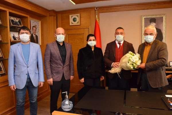 Avrasya Üniversitesi AK Parti Ortahisar İlçe Başkanı Çebiyi ağırladı