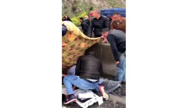 Osmaniyede otoyolda kaza: 1 ölü, 2 yaralı