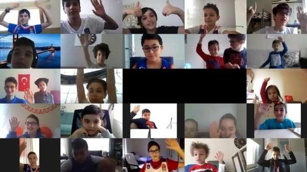 Minikler 23 Nisan'ı Anadolu Efes ile birlikte dijital ortamda kutladı