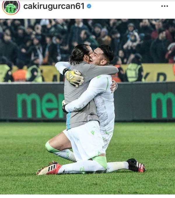 Trabzonsporlu oyunculardan duygusal paylaşım