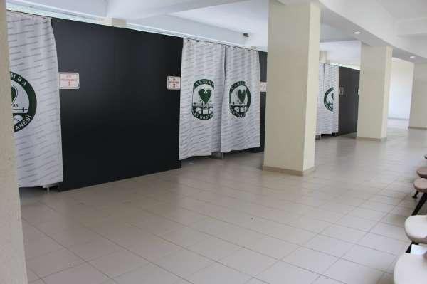 Çarşamba Devlet Hastanesinde aşı düzenlemesi