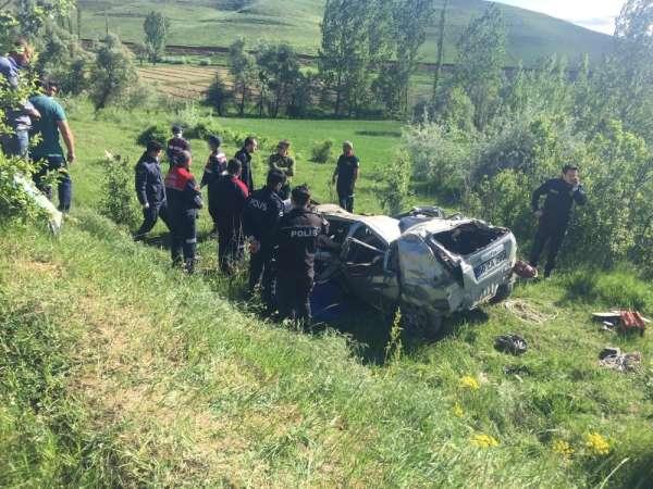 Tufanbeyli'de feci kaza