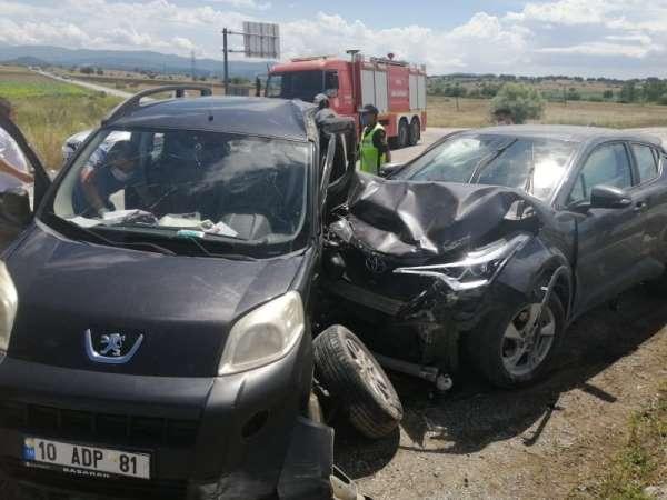 Çan'da trafik kazası: 4 yaralı