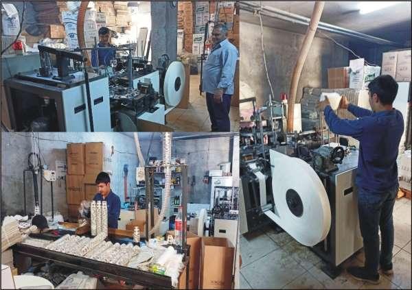 Günde 72 bin karton bardak üretiyor