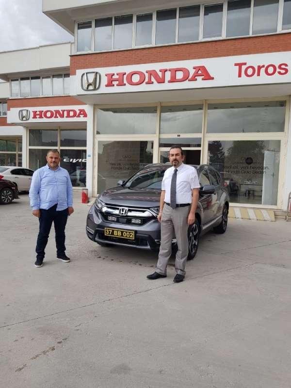 Honda'nın çevreci modeli Çatalzeytin Belediyesi'nin itfaiye öncü araç filosuna e