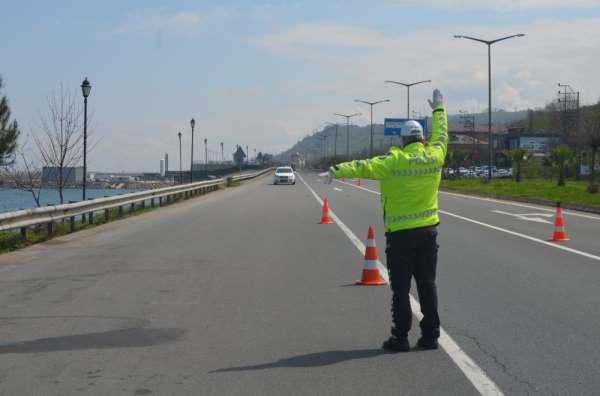 Ordu trafiğinde 'en çok hız sınırını aşanlara' kesiliyor