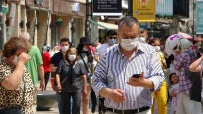 Ordu'da maske kullanımına özen gösteriliyor