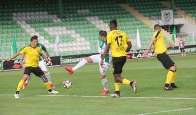 TFF 1. Lig: Giresunspor: 0 - İstanbulspor: 1 (İlk yarı sonucu)