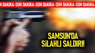 Samsun'da silahlı saldırı! 18 yaşındaki genç...