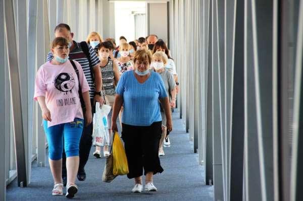Bodruma Rus turistler akın akın gelmeye başladı