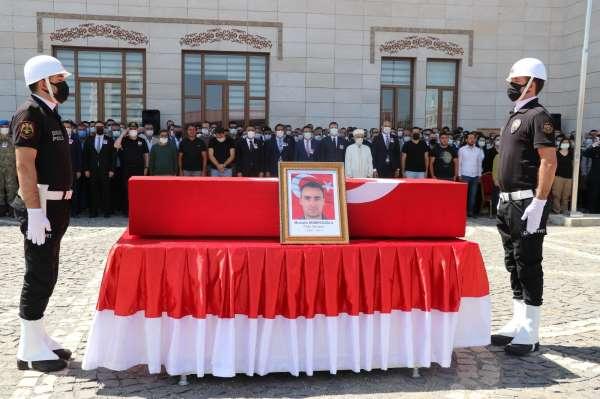 Siirtte kazada hayatını kaybeden polis memuru için tören düzenlendi