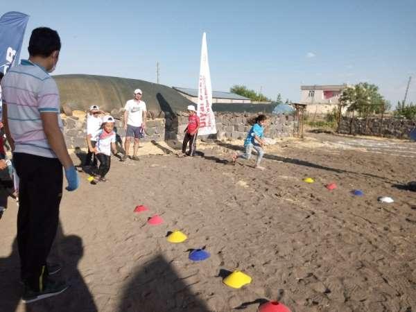 Ergani'de Köyde Kal Spor Yap Projesi