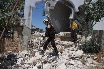 Esad güçlerinden İdlib'e roket saldırısı: 2 yaralı