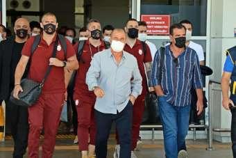 Galatasaray son maç için Antalya'da