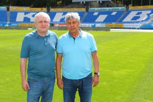 Mircea Lucescu, Dinamo Kiev'in başına geçti