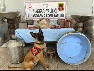 PKK terör örgütüne finansman sağlamak amacıyla kullanılan sığınakta uyuşturucu e