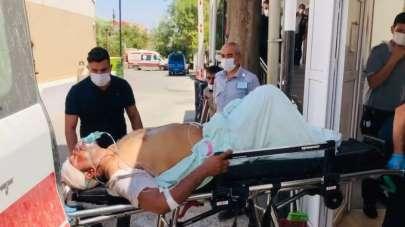 Resulayn'daki patlamada yaralananlar Ceylanpınar'a getiriliyor