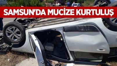 Samsun'da mucize kurtuluş