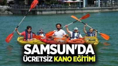 Samsun'da ücretsiz kano eğitimi