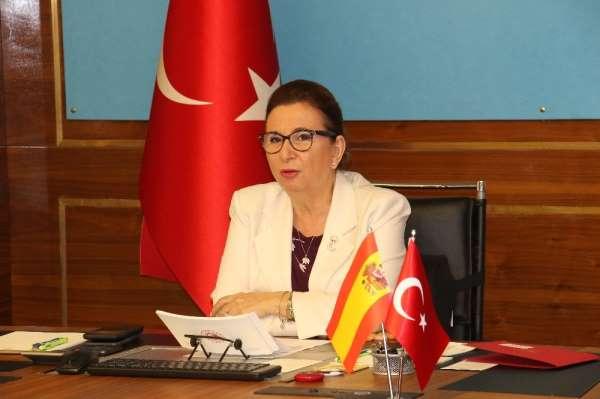 Türkiye ile İspanya arasında sanal 'İş Forumu' toplantısı