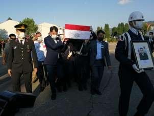 Selde şehit olan Uzman Çavuş Onur Kıran için tören düzenlendi