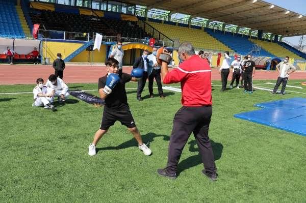 Ağrıda Avrupa Spor Haftası etkinlikleri başladı