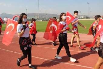 'Avrupa Spor Haftası' etkinleri Korona virüs önlemleri altında yapıldı