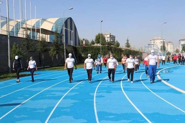 Avrupa Spor haftası Etkinlikleri Haftası etkinlikleri açılış töreni ile start al
