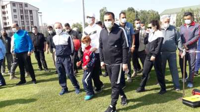 Kars'ta Avrupa Spor Haftası etkinlikleri başladı