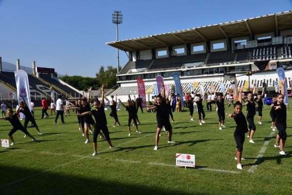 Manisada Avrupa Spor Haftası etkinlikleri düzenlendi