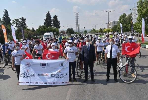 Osmaniyede Avrupa Spor Haftası etkinlikleri bisiklet turuyla başladı