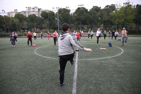 Kadıköylü güne sporla başlıyor