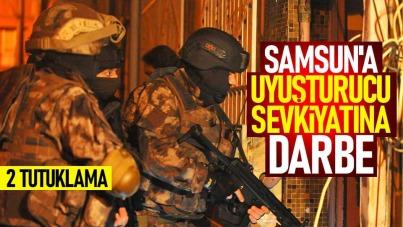 Samsun'da uyuşturucu sevkiyatına darbe: 2 tutuklama