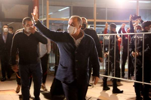 Galatasaray kafilesi Erzurum'da